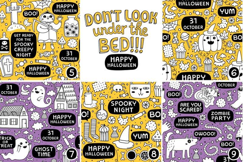 13 Halloween patterns example image 3