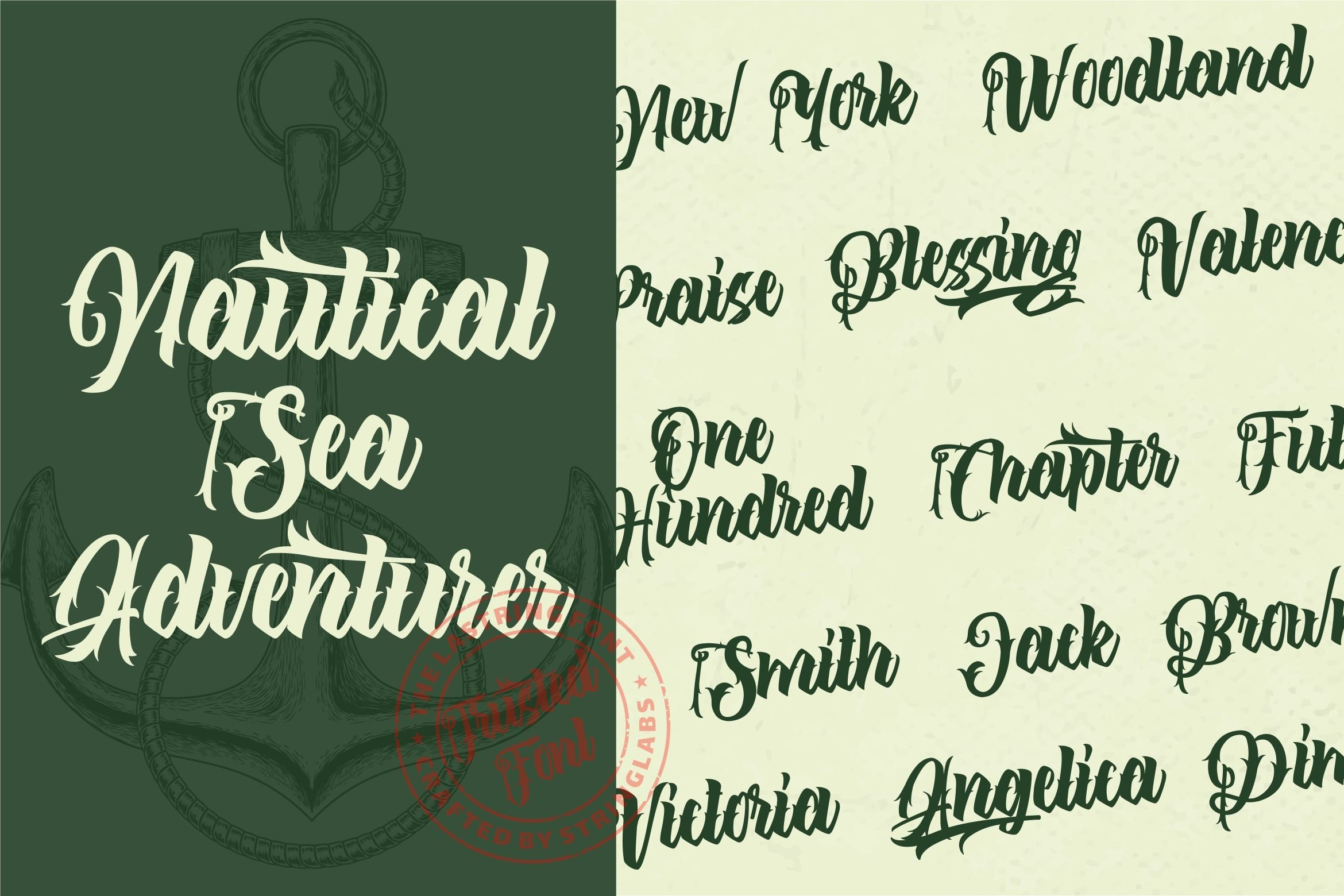 The Lastring - Tattoo Script Font example image 4