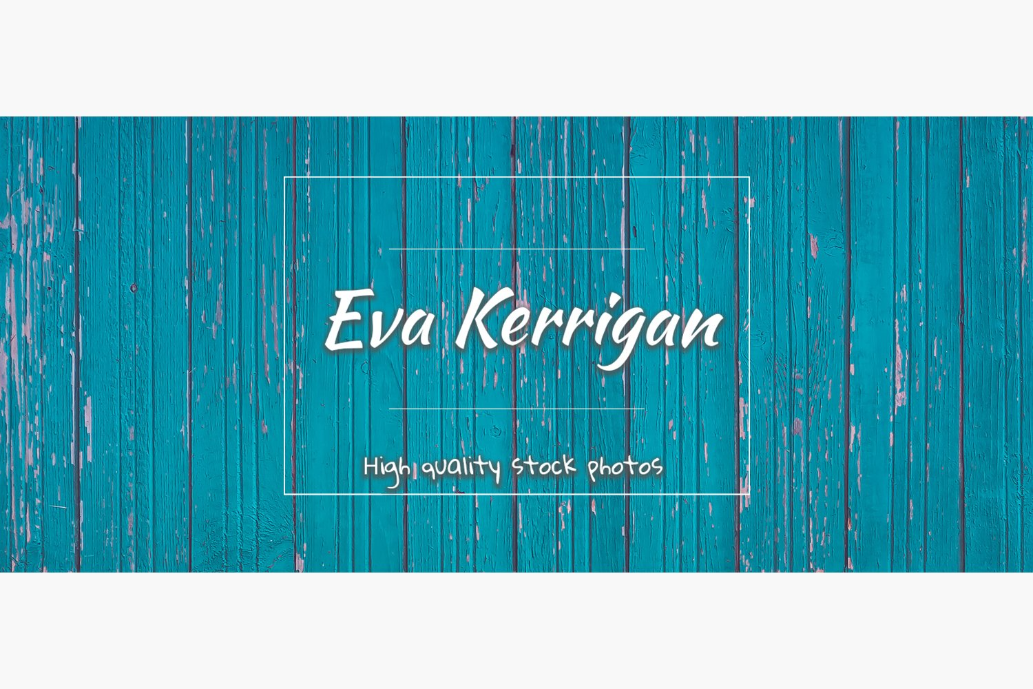 The texture of a bright wooden plank wall blue or aquamarine example image 1