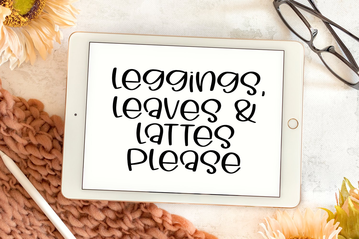 Goodbye Summer - A Hand-Lettered Fall Font example image 2