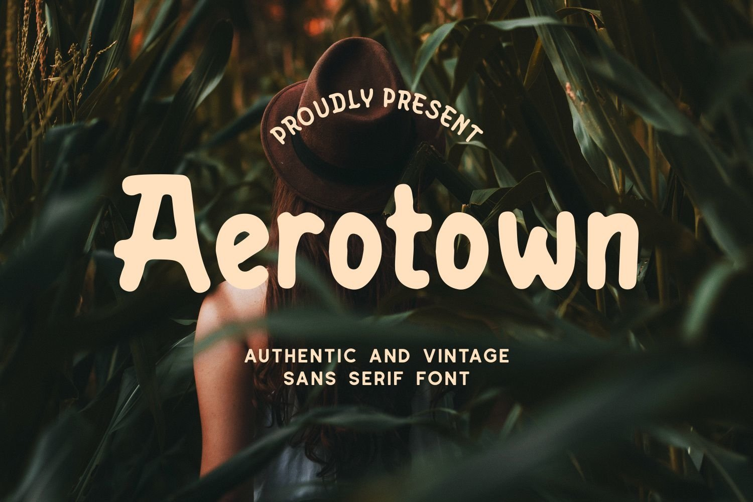 Aerotown - Authentic and Vintage Sans Serif Font example image 1