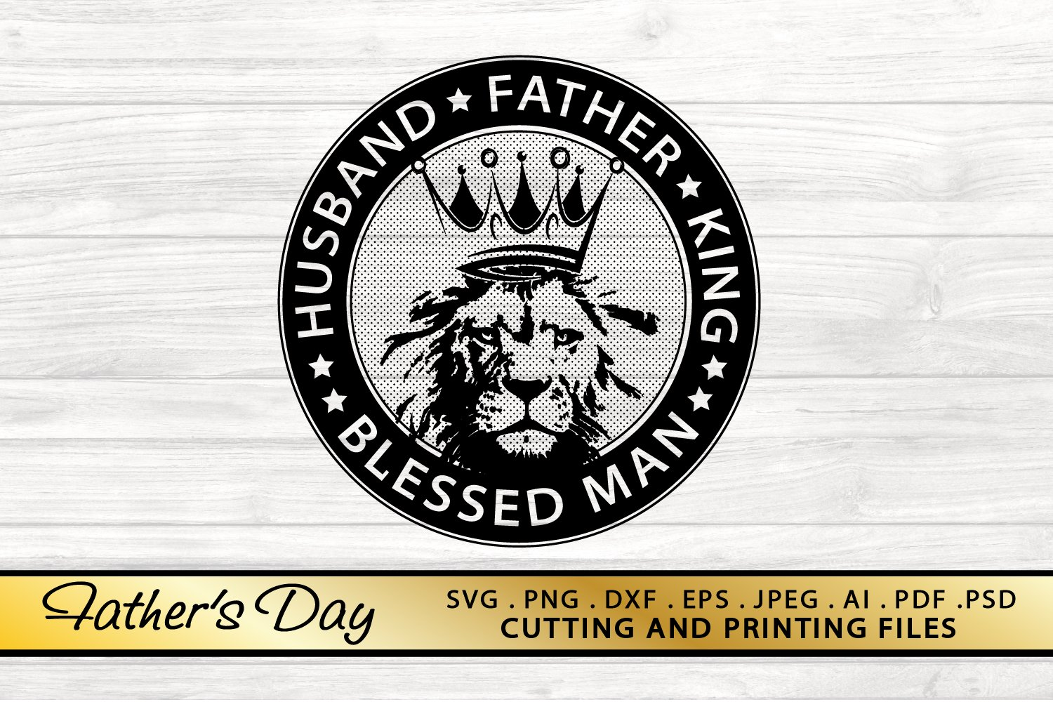 DAD SVG PNG DXF EPS Files Father's Day SVG example image 1