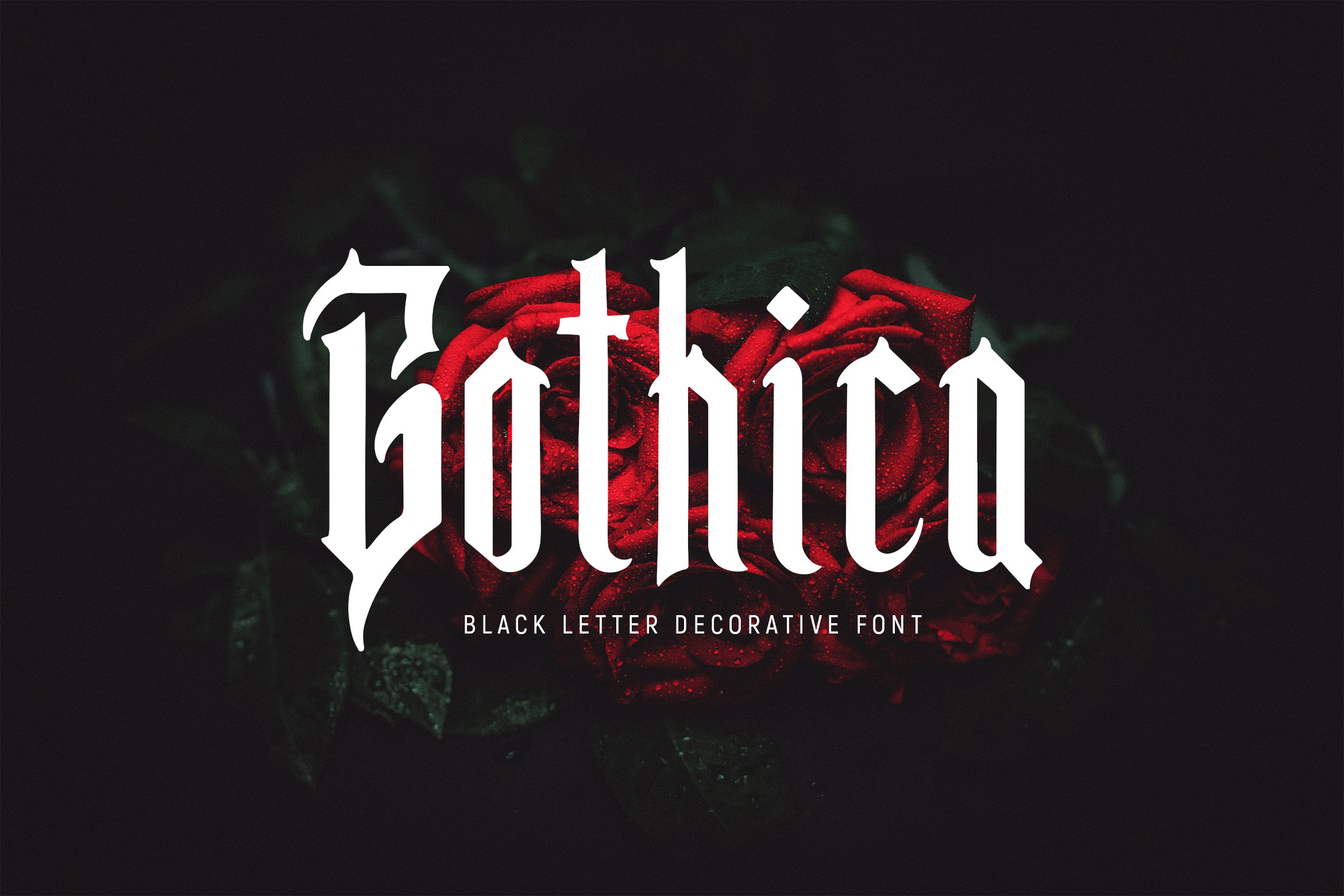 Gothica - Gothic Font example image 1