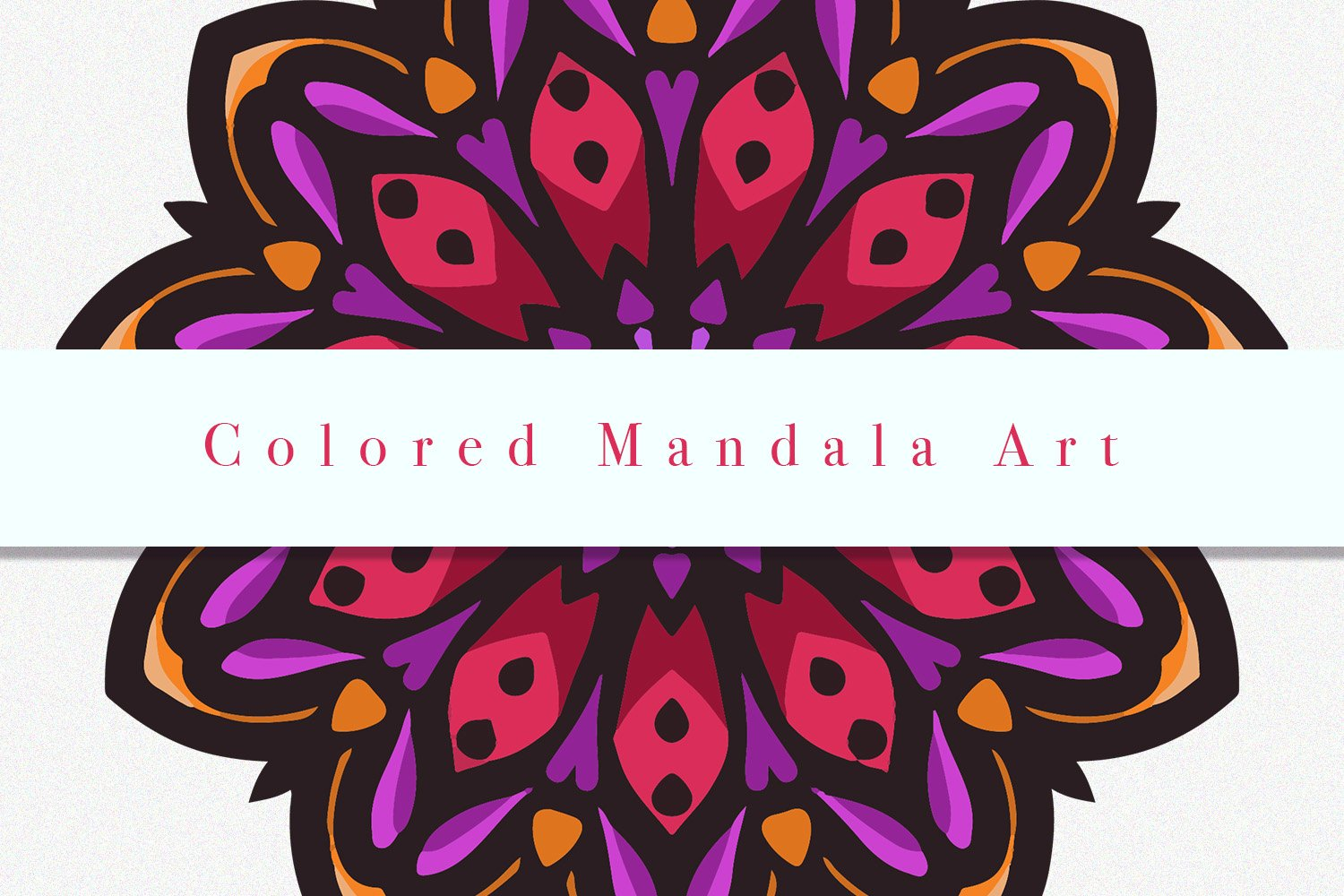 Colored Mandala Art 05 example image 3