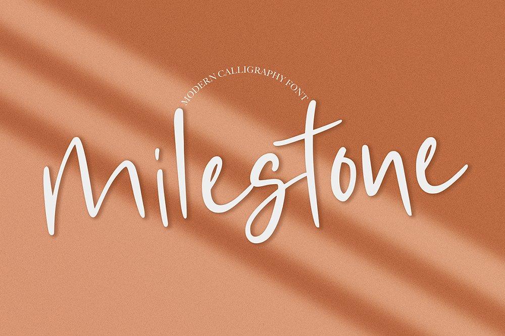 Milestone example image 1