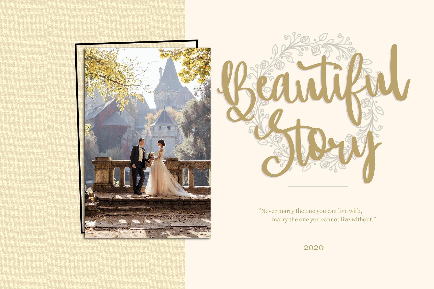 Romance d'Amour - Romantic HandWritten Script Font example image 2