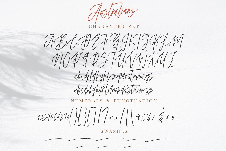 Australians - Handwritten Font example image 3