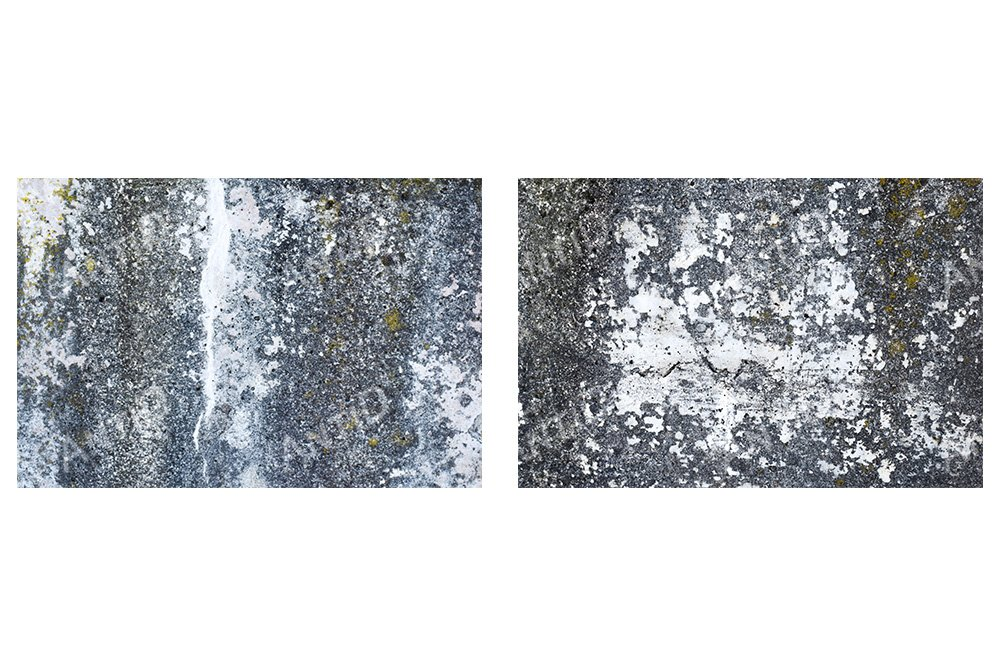 A set of 2 images. Texture of exterior concrete wall. example image 1
