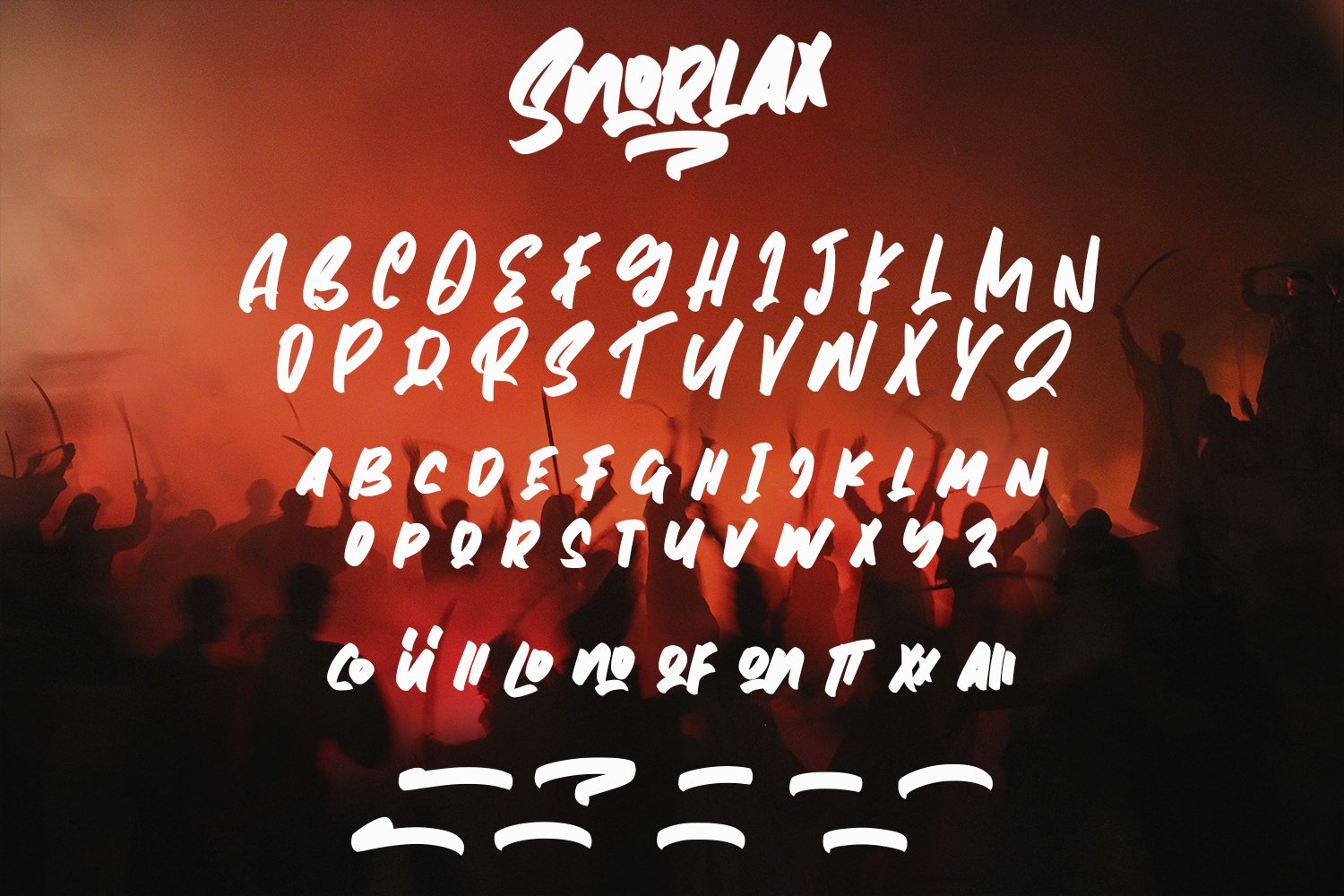 Snorlax - Script Bold Fonts example image 7
