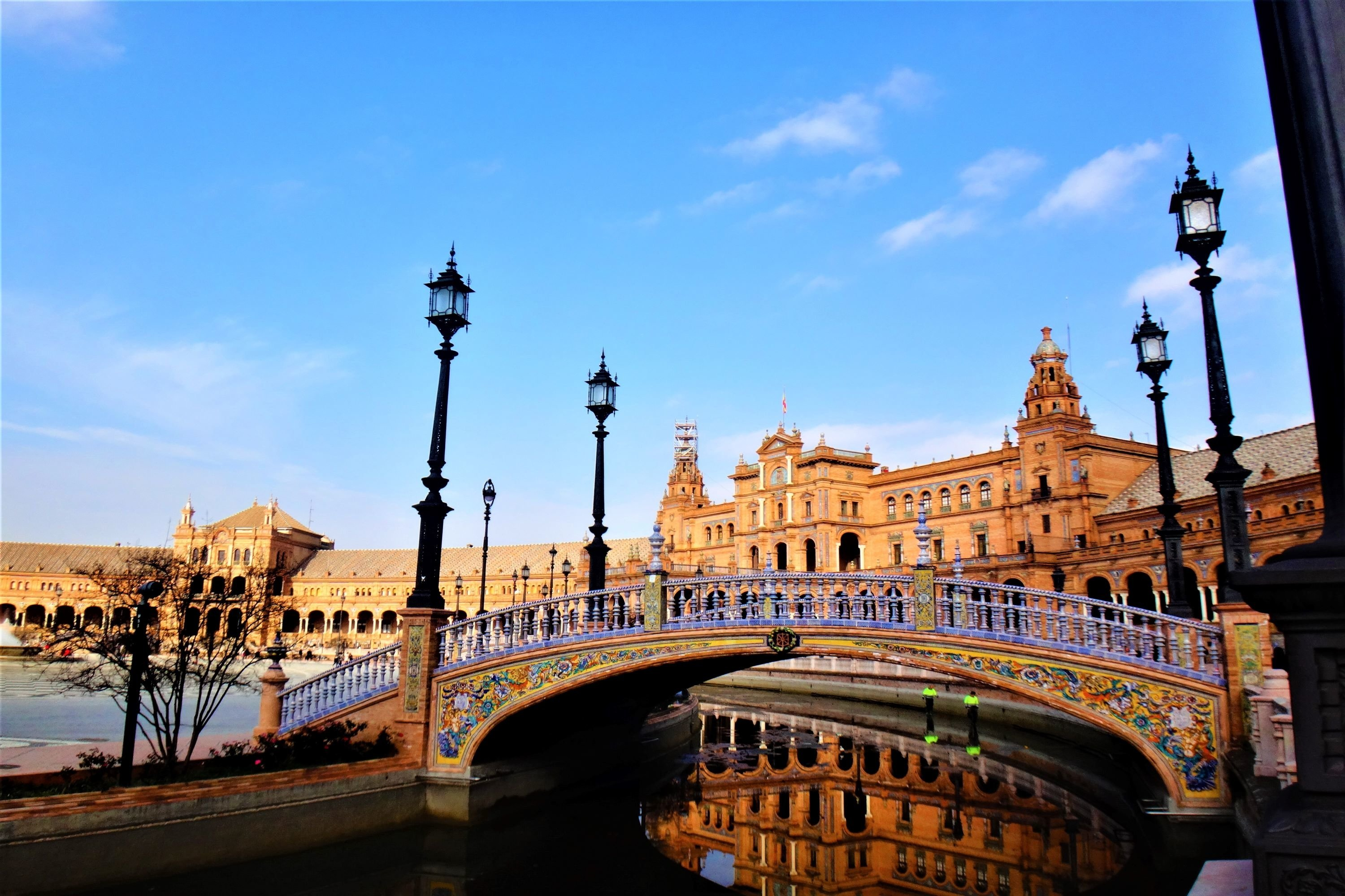 Fantastic architecture of Seville, Spain example image 1