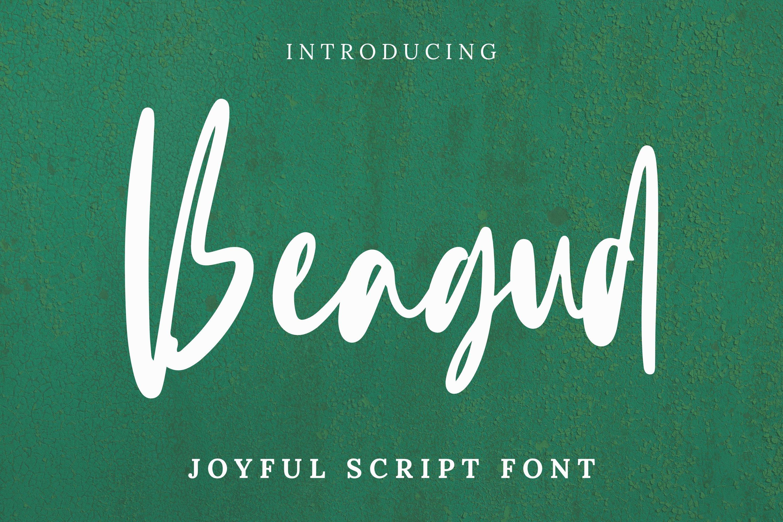 Beagud Font example image 1