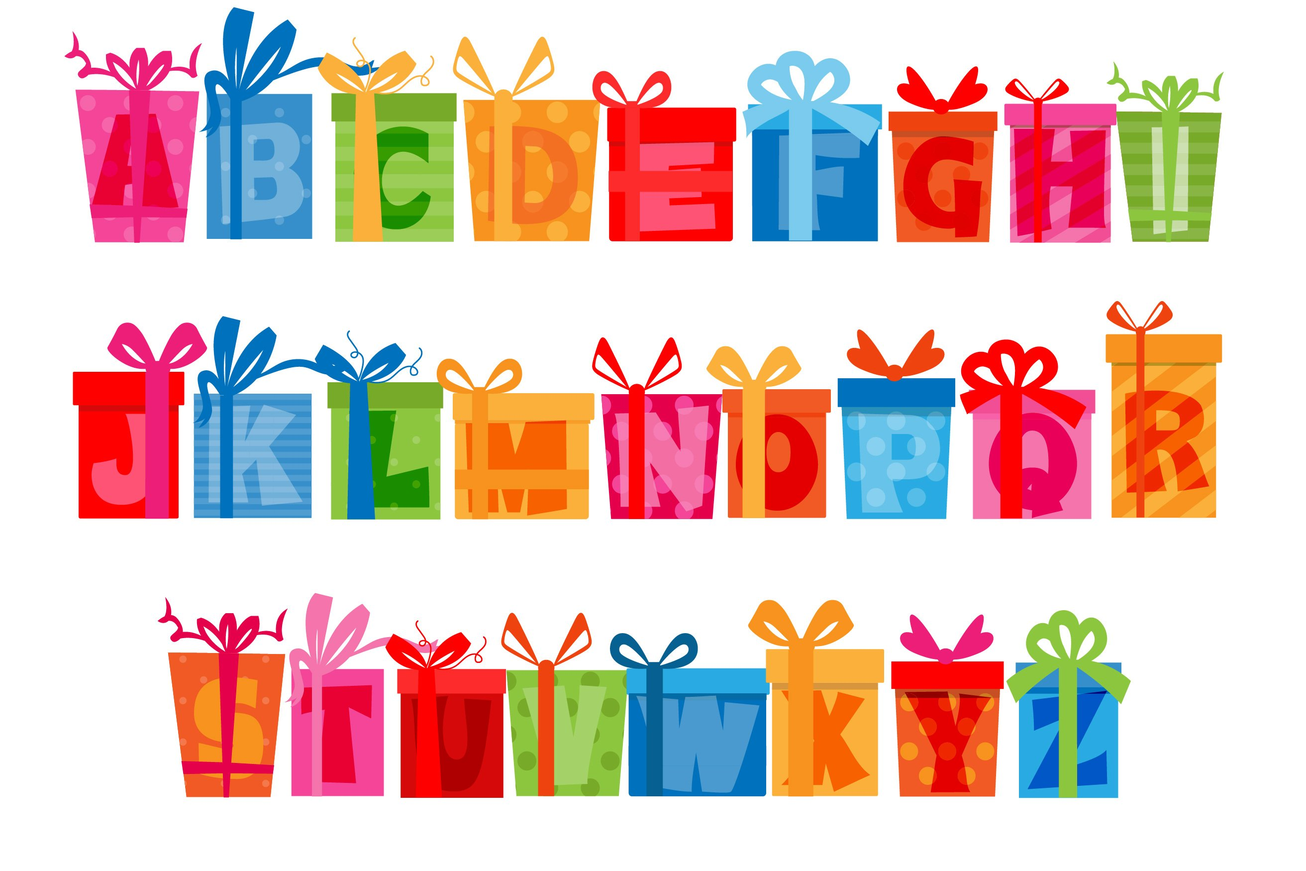 Birthday SVG Font Duo example image 12