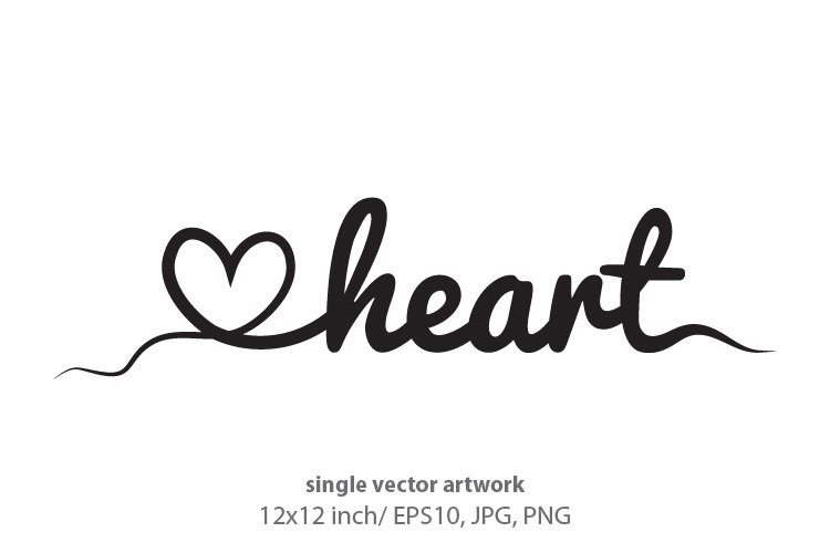 heart and love example image 1