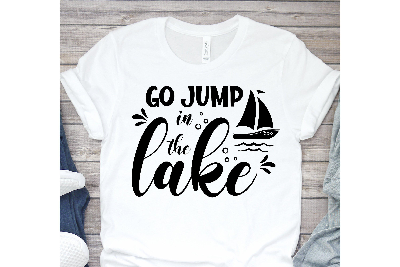 Lake Bundle SVG, Lake Quotes SVG, lake life svg, funny Quote example image 2