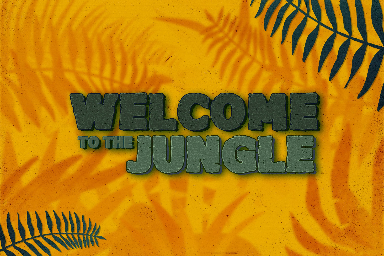 Junglezou Typeface example image 2