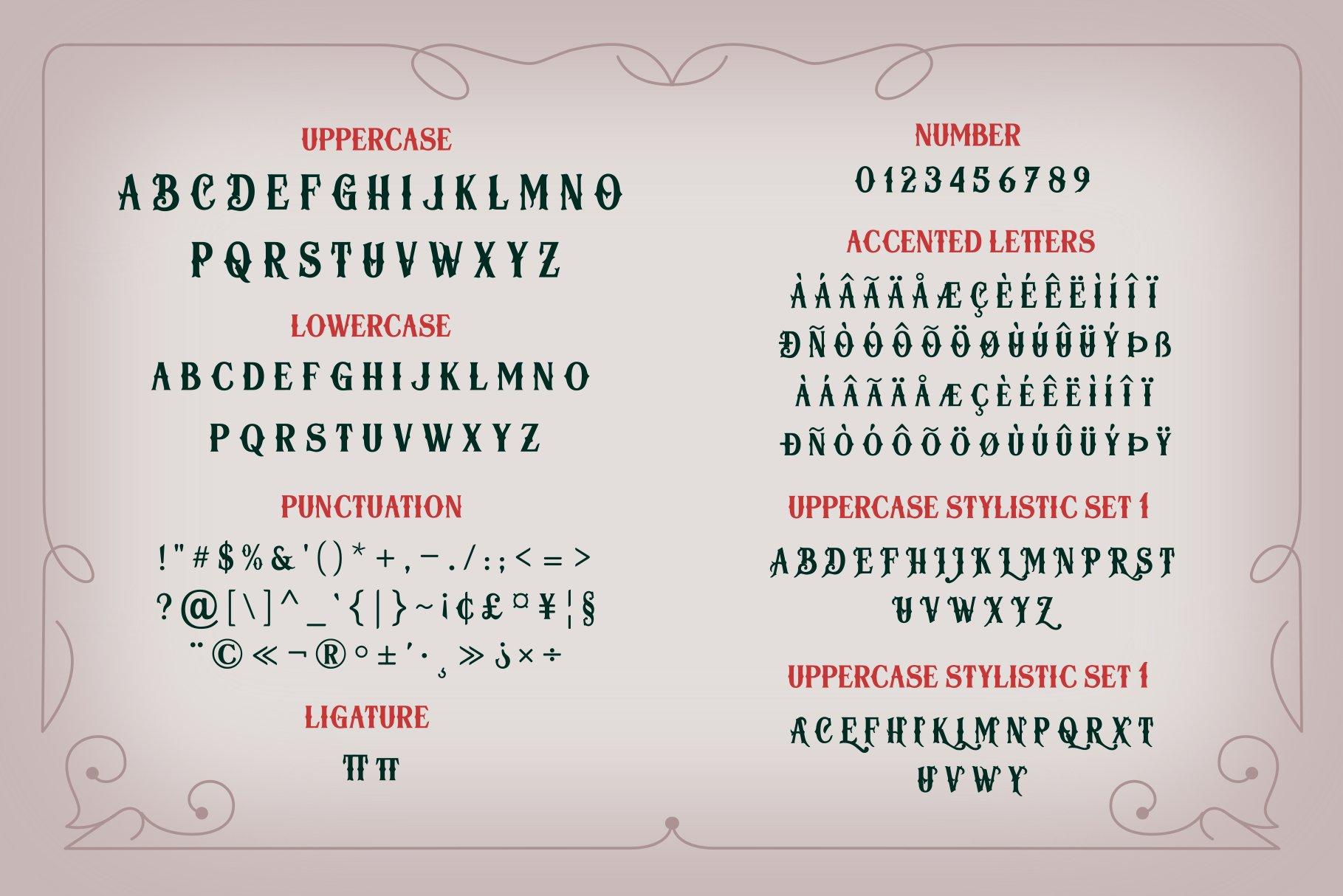 Herosita Typeface example image 6