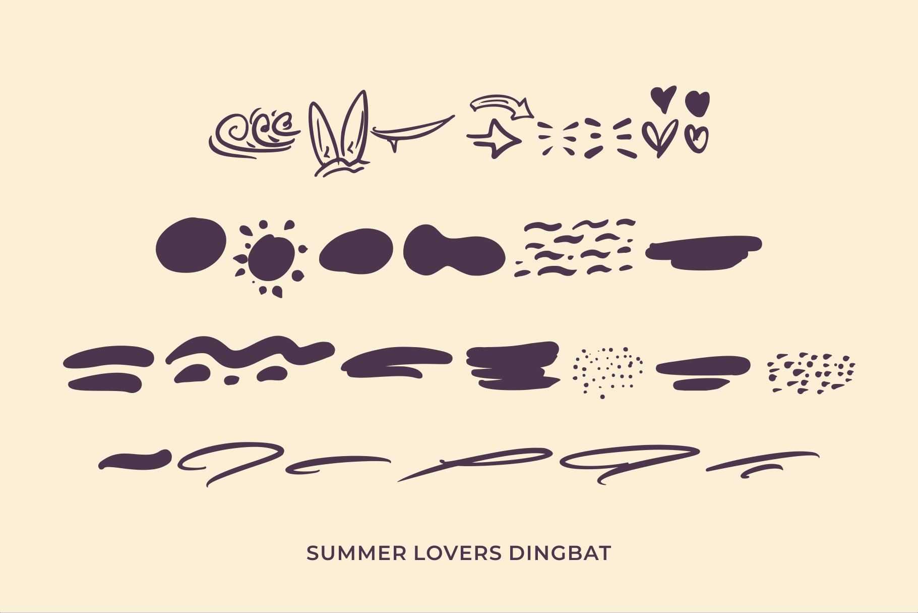 Summer Lovers with Alternate and Dingbat example image 6