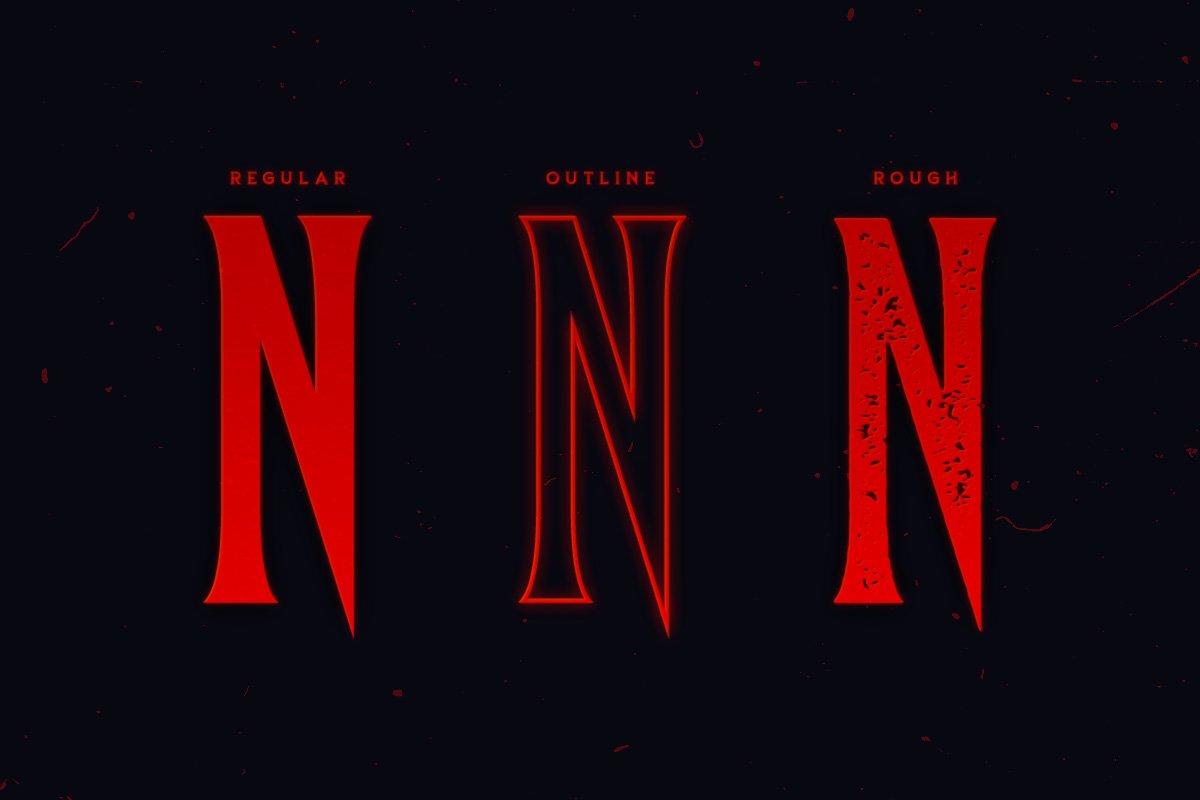 Anima Typeface example image 5