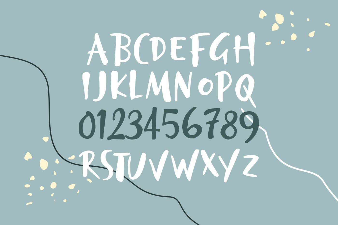 Chalkbird Handwritten Font example image 5