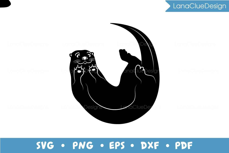 4 Otters SVG Bundle example image 2