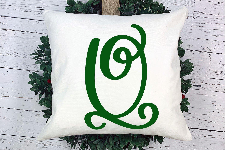 Joyful Monogram - Christmas Monogram Font example image 2
