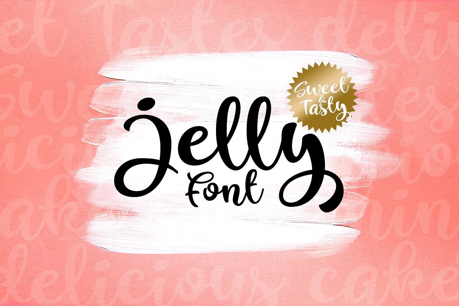 Web Font Jelly example image 1