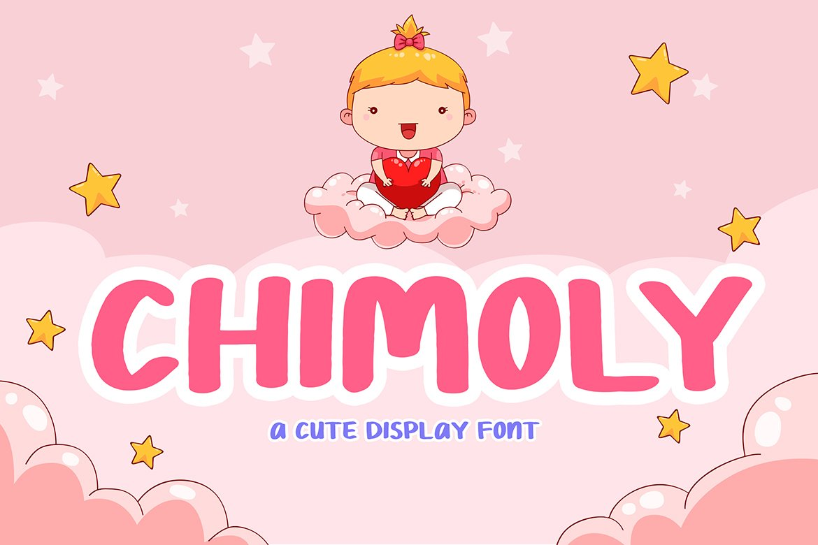 Chimoly Cute Display Font example image 1