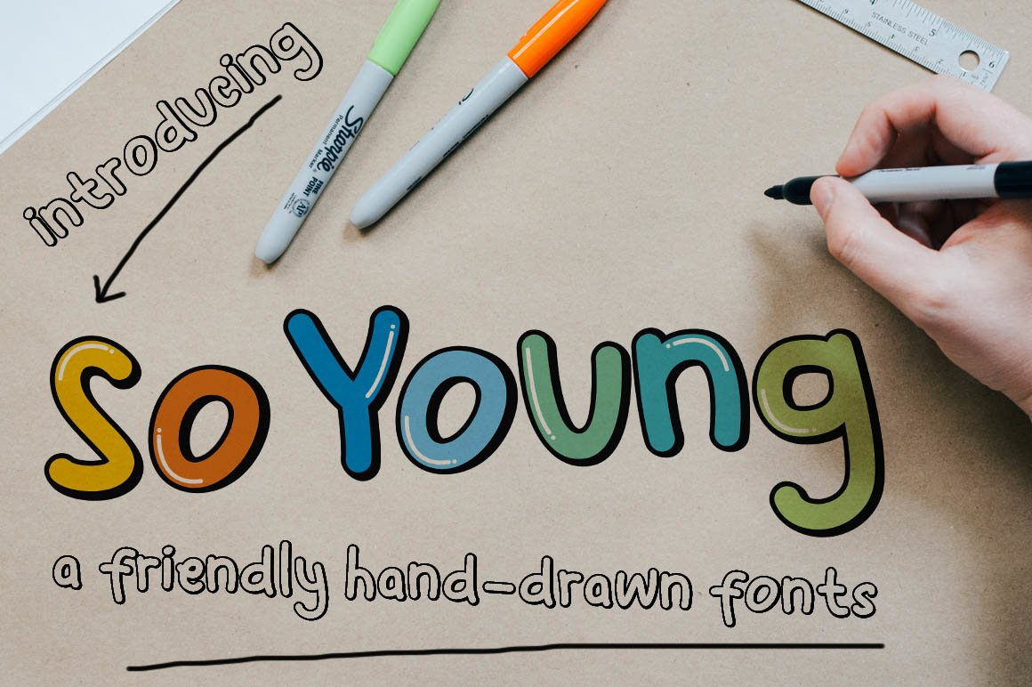 So Young - Friendly Display Font example image 1