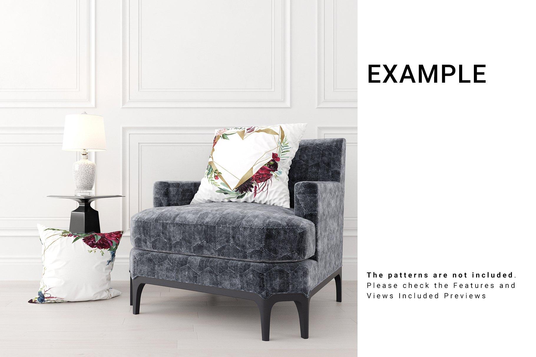 Luxury Interior Throw Pillows Set example image 8