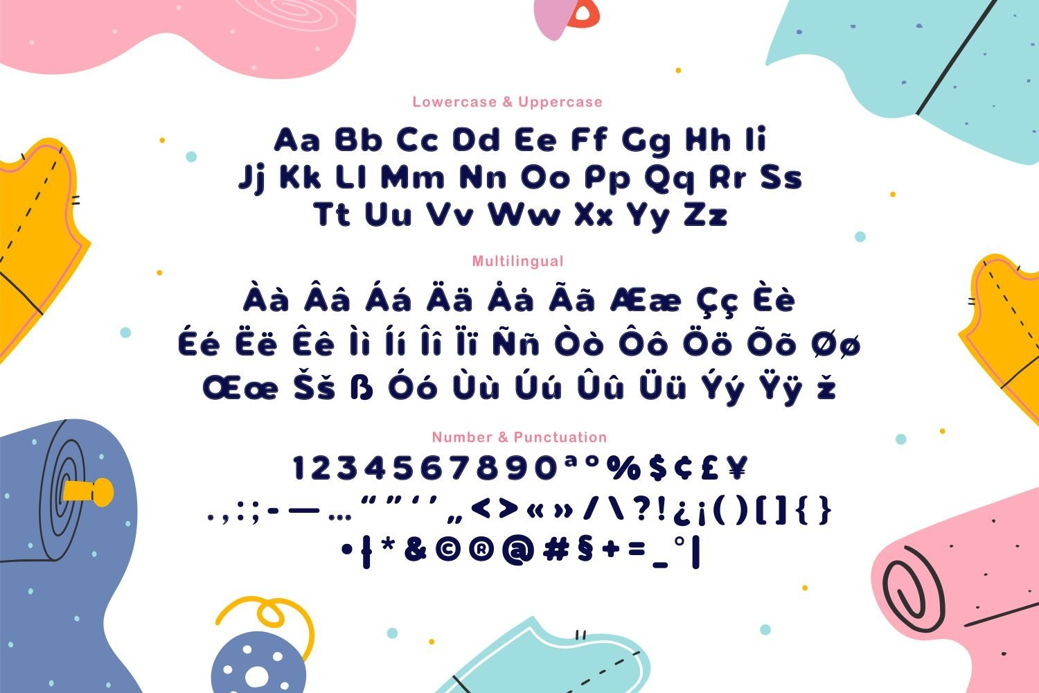 Cotton Field - Playful Display Font example image 3
