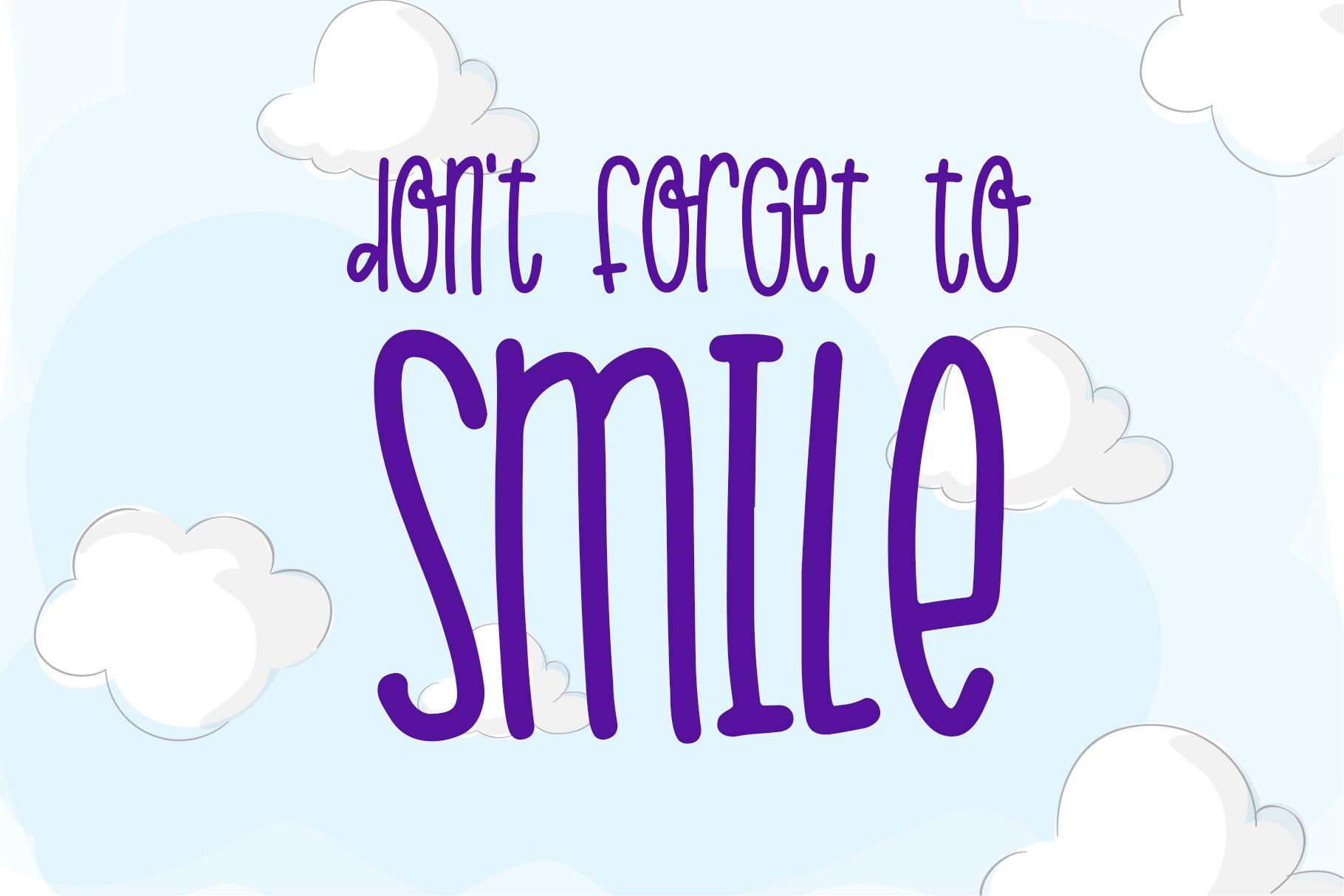 Jolly Dream - Skinny Handwritten Font example image 4