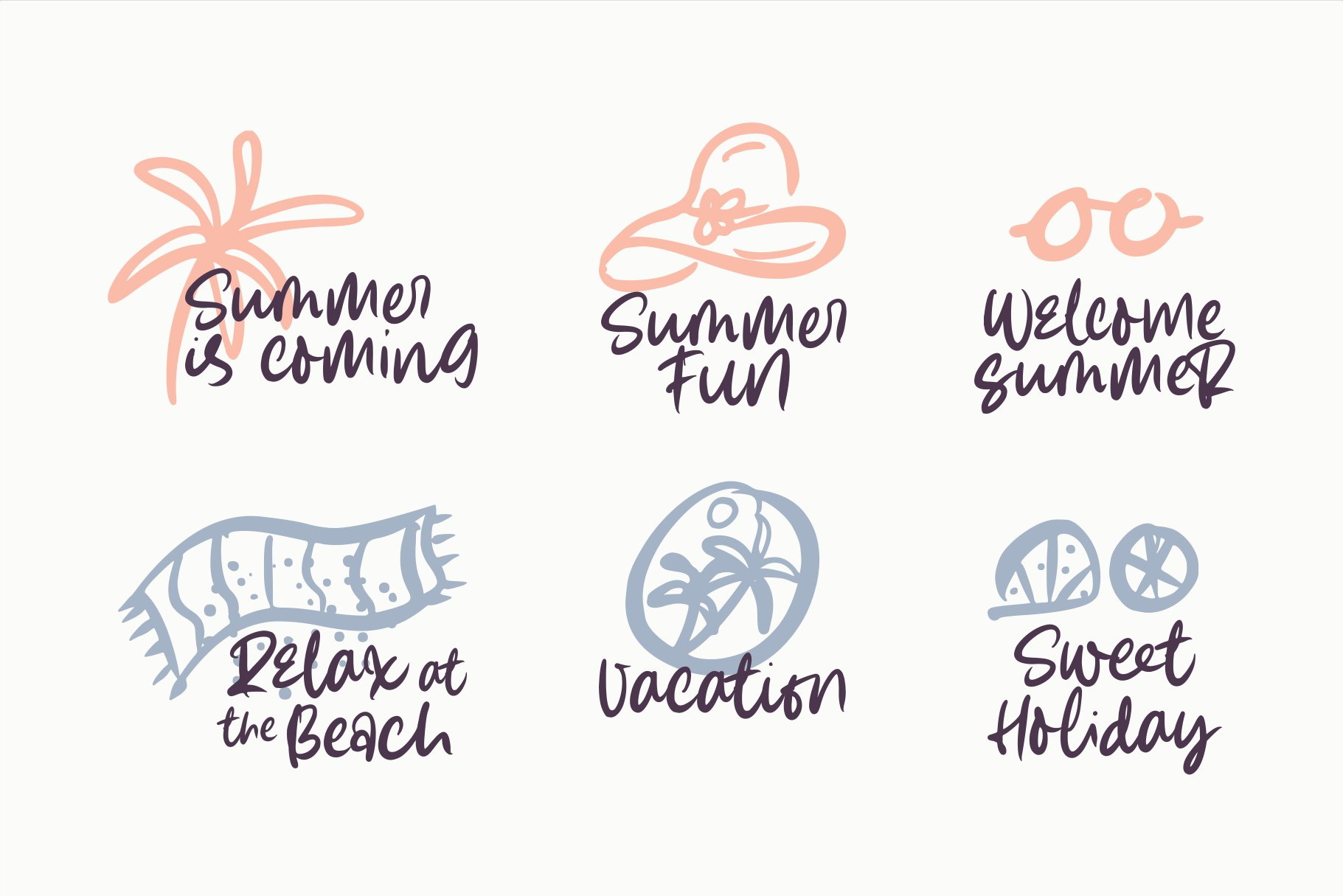 Summer Lovers with Alternate and Dingbat example image 5