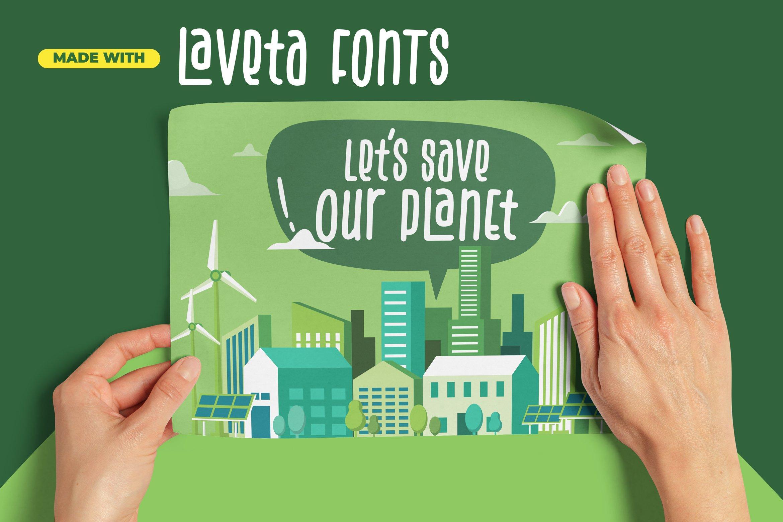 Laveta - Fancy Fonts example image 7