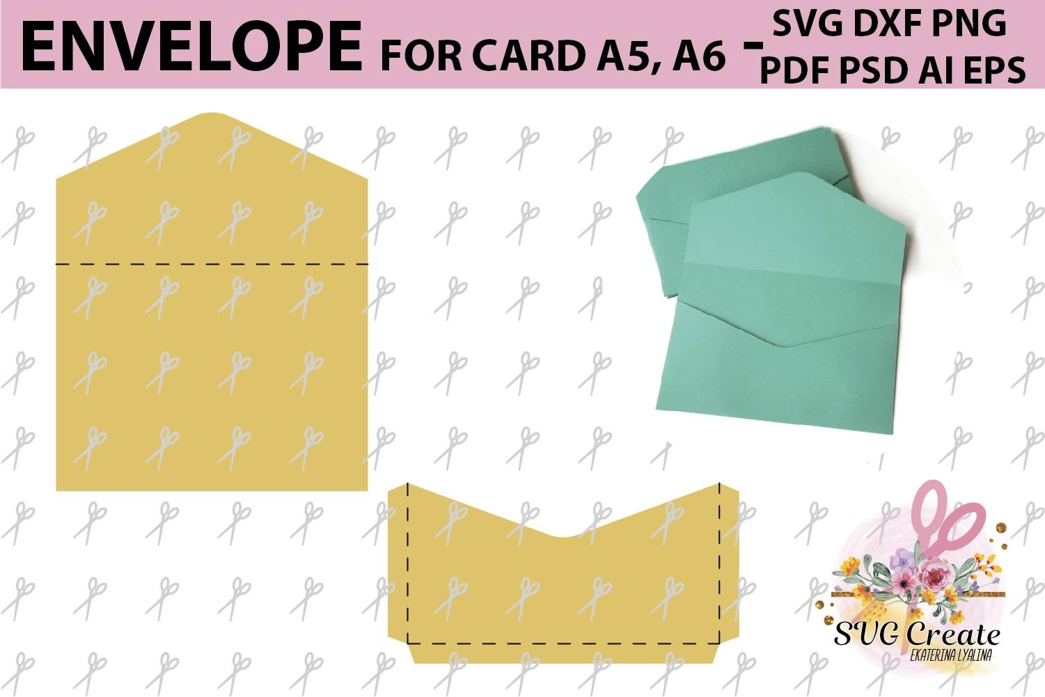 A6 Envelope Template from i.fbcd.co