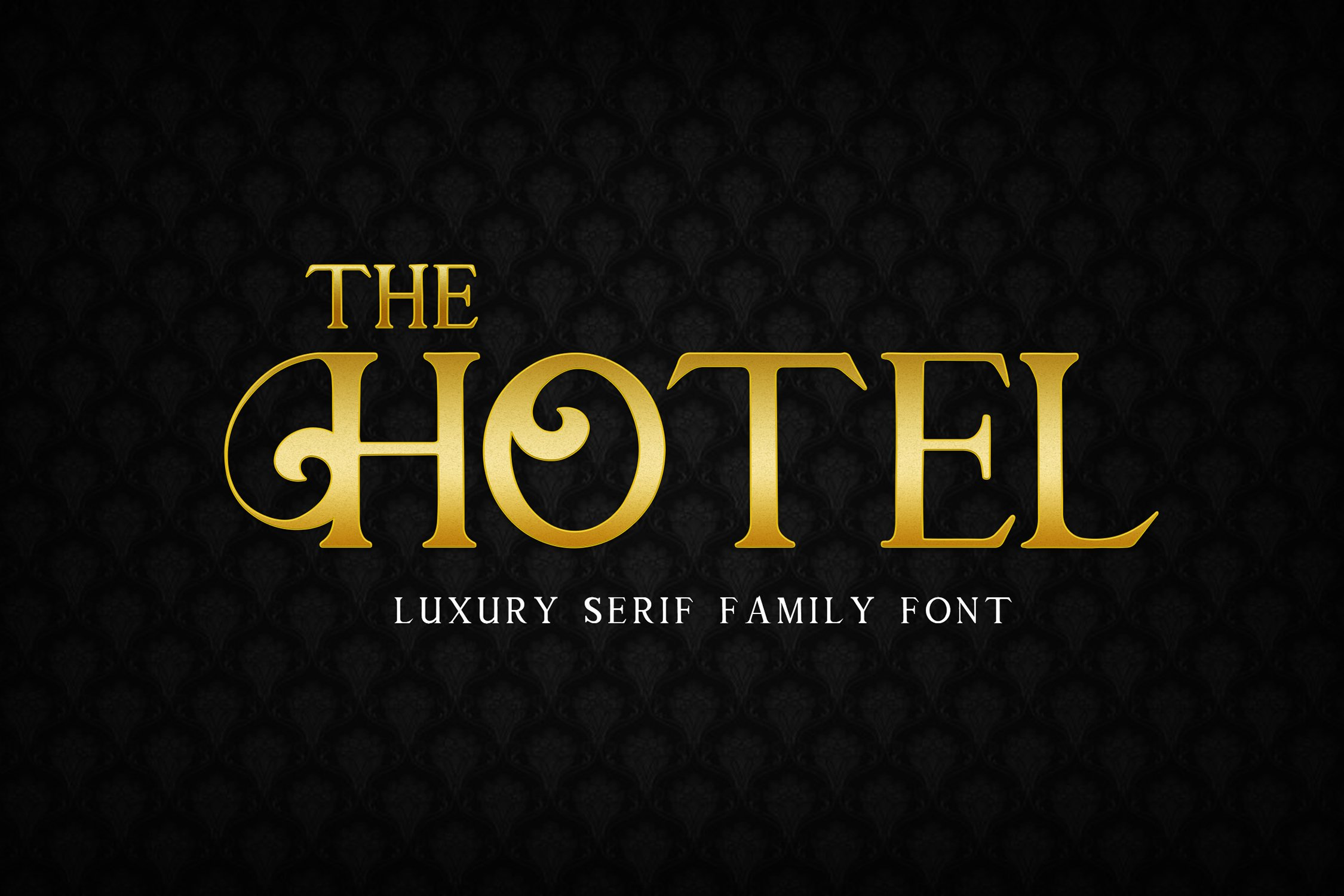 The Hotel - Luxury Font example image 4