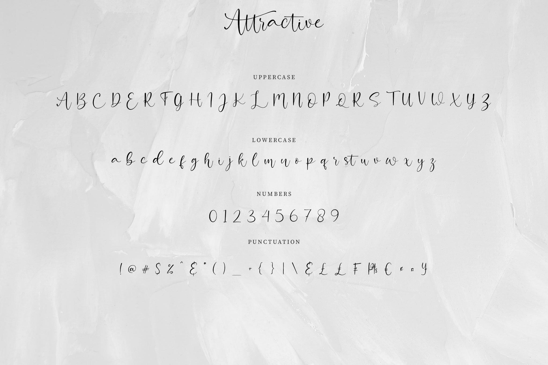 Attractive Modern Handwritten example image 9