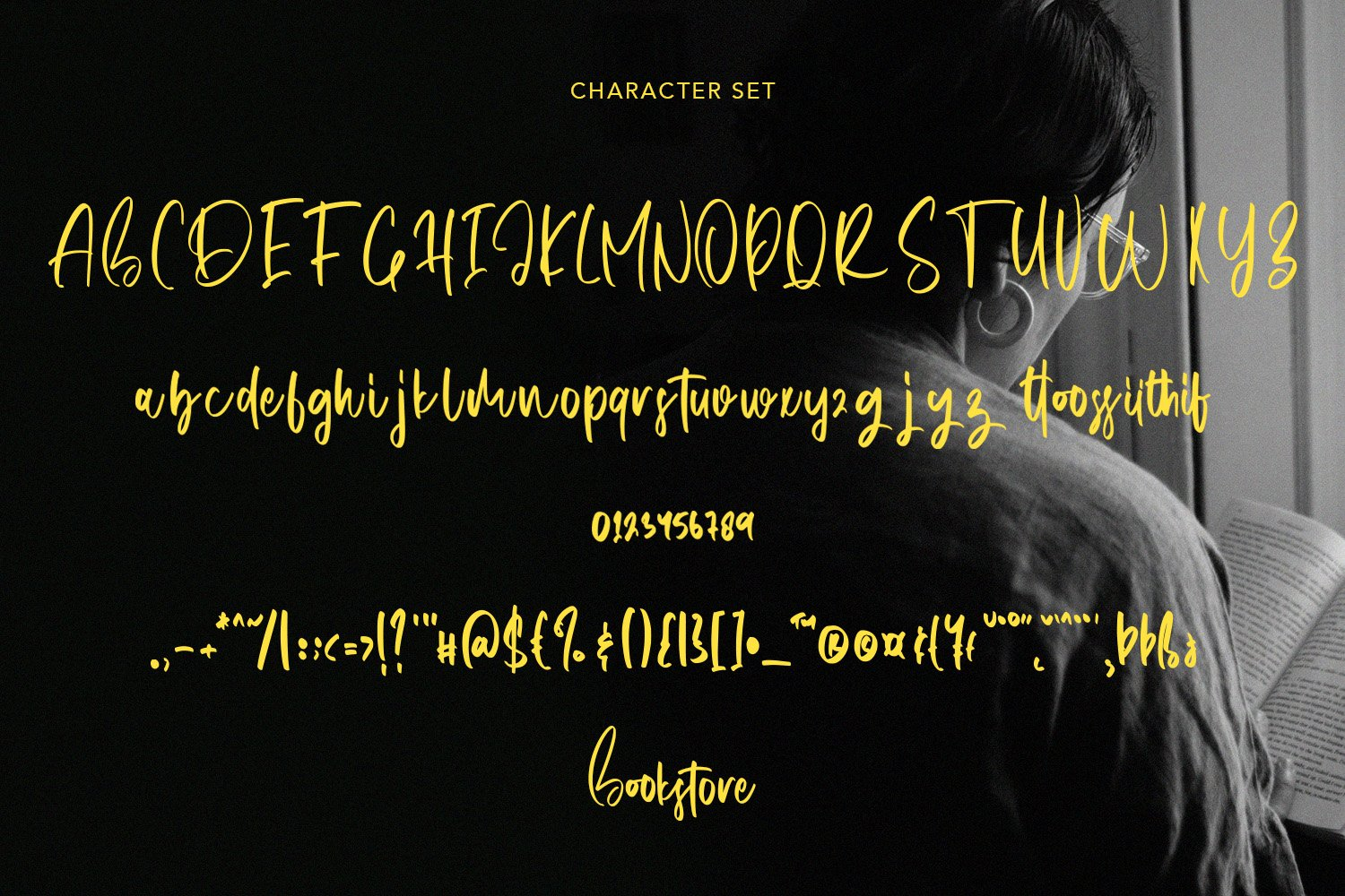 Bookstore - A Script Font example image 6