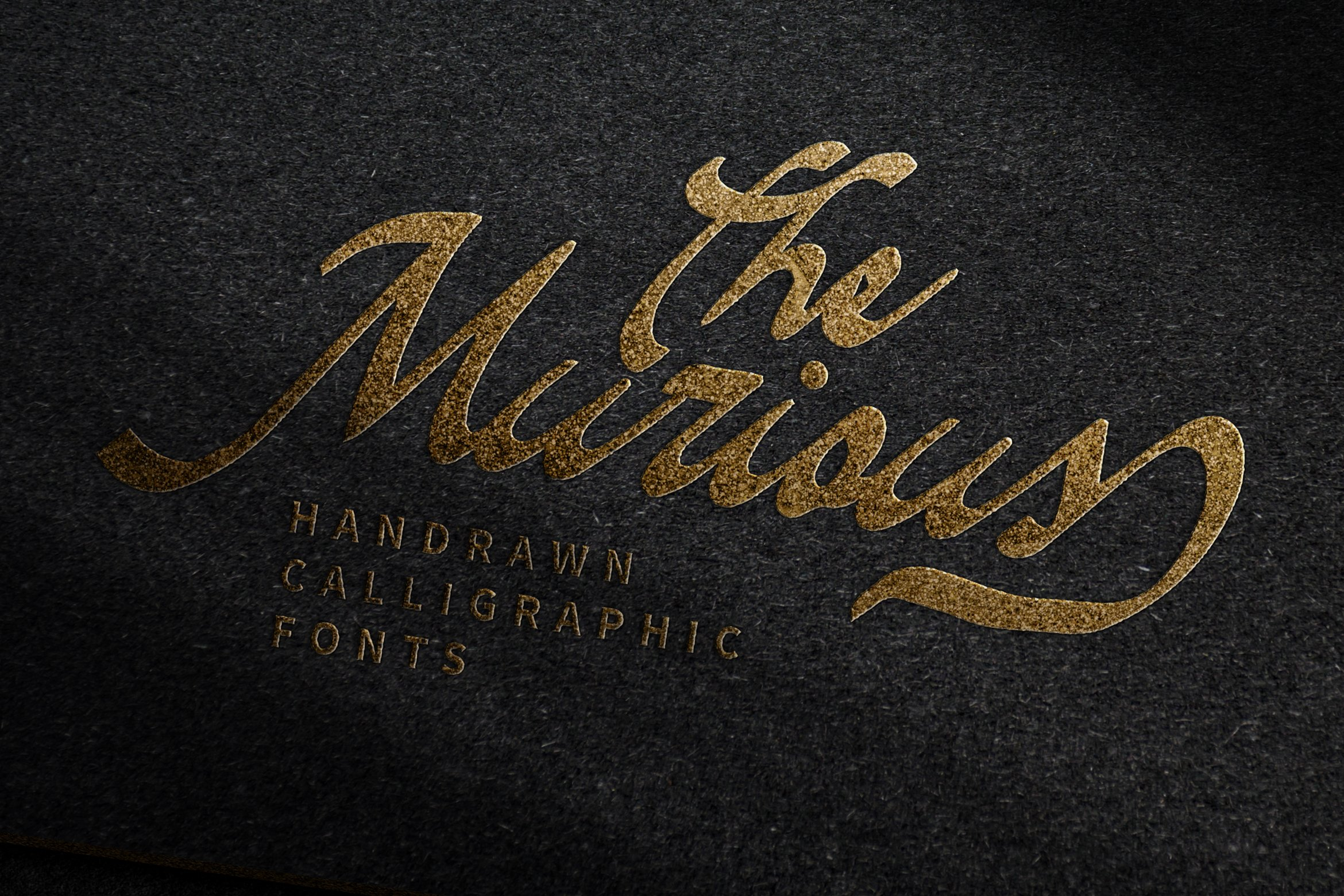 The Murious- Calligraphy Fonts example image 1
