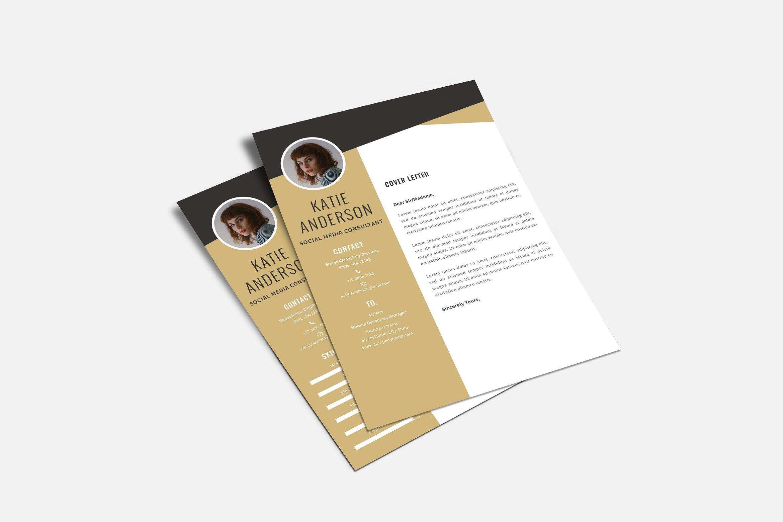Midaz - Creative CV Resume Set example image 2