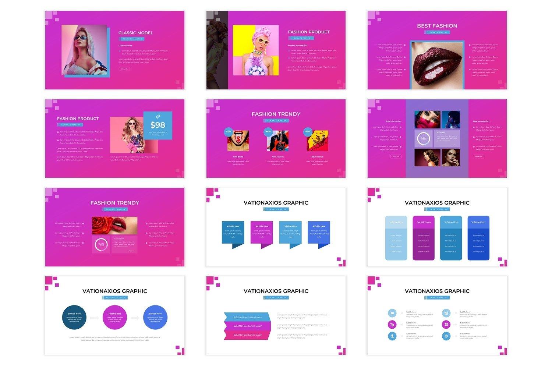 Fashionessia - Keynote Template example image 4