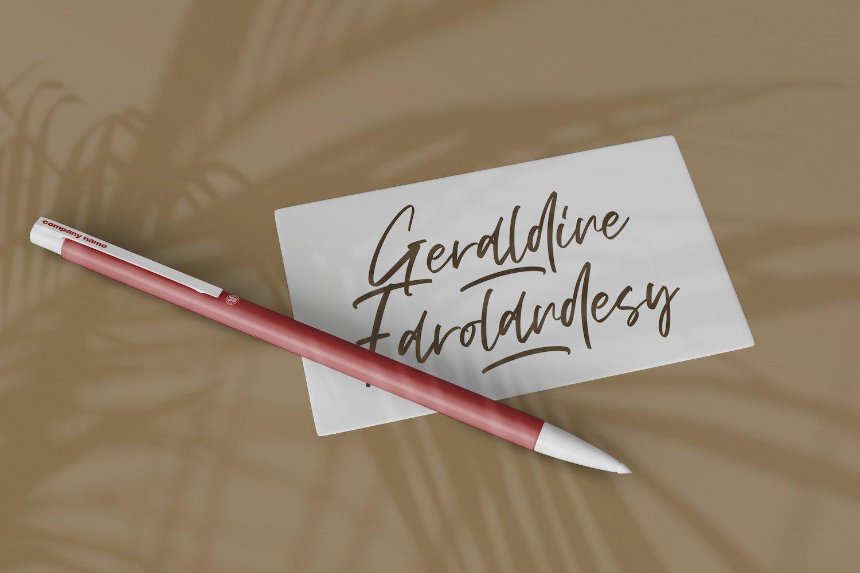 Vezthisory - Handwritten Font example image 3