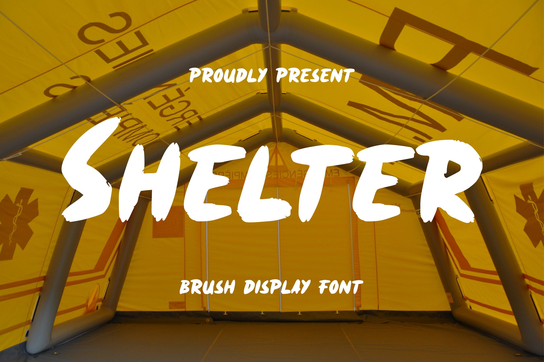 Shelter Font example image 1