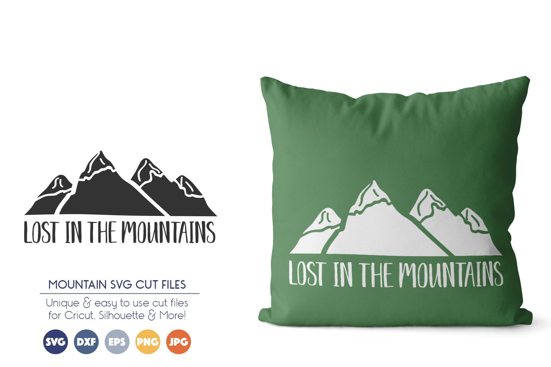 Wanderlust, Adventure, Mountain SVG Files example image 1