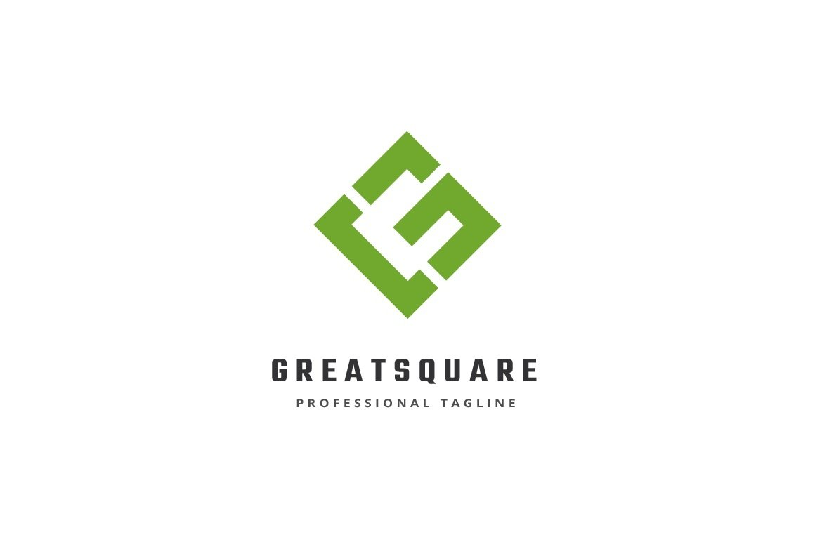 Great Square Letter G Logo example image 2