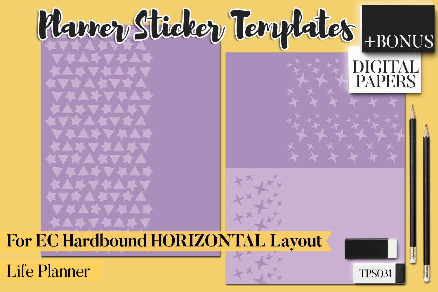 Planner Stickers Templates - Bundle Vol. 11 example image 6