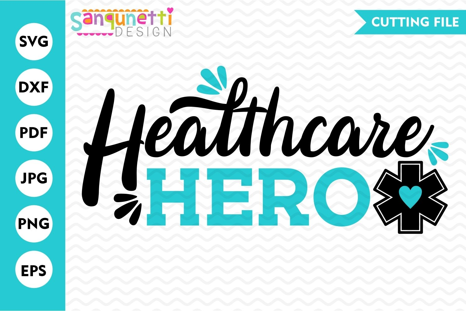 Healthcare hero SVG, nursing and medical svg example image 2