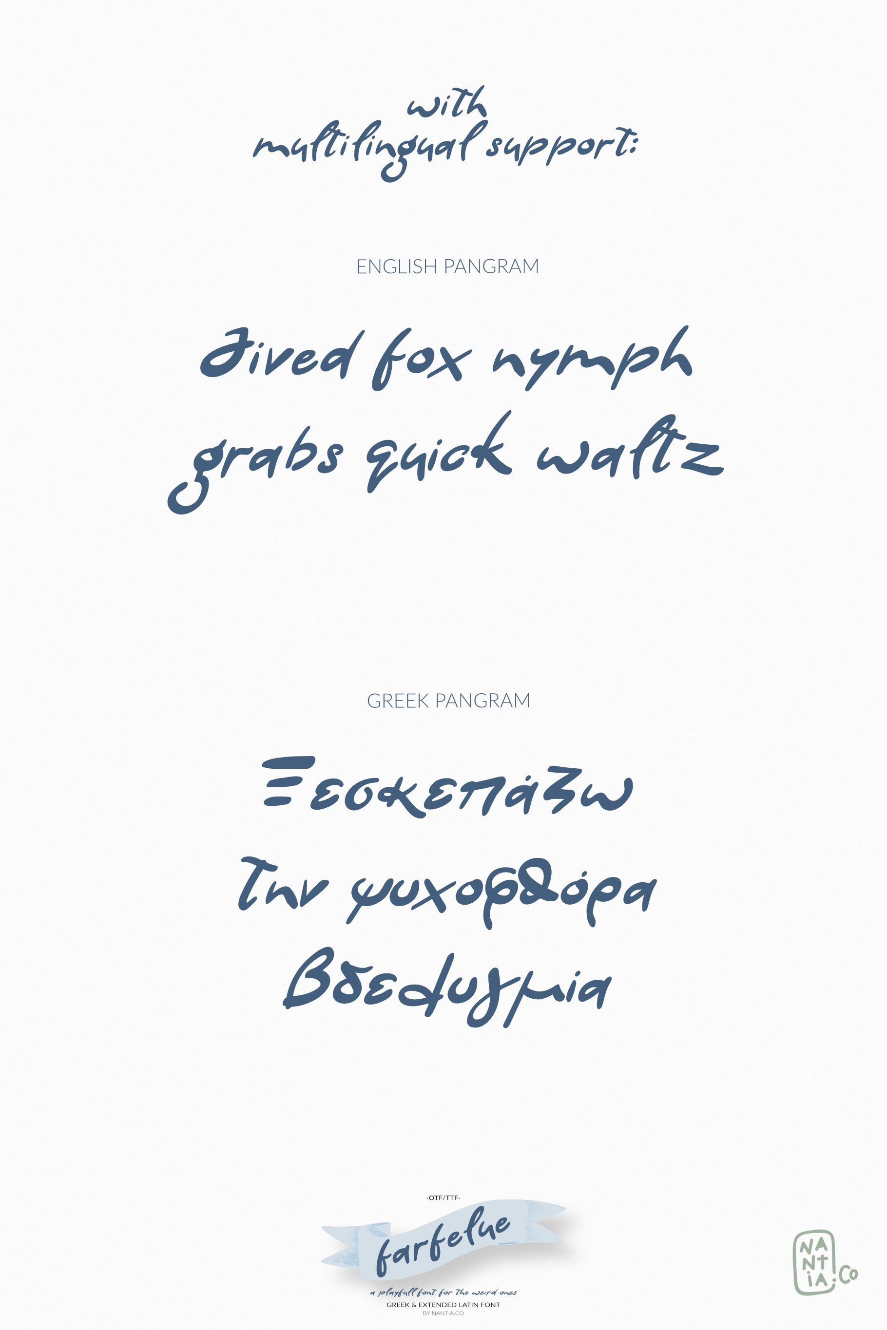 Farfelue, playful font for the weird ones! example image 6