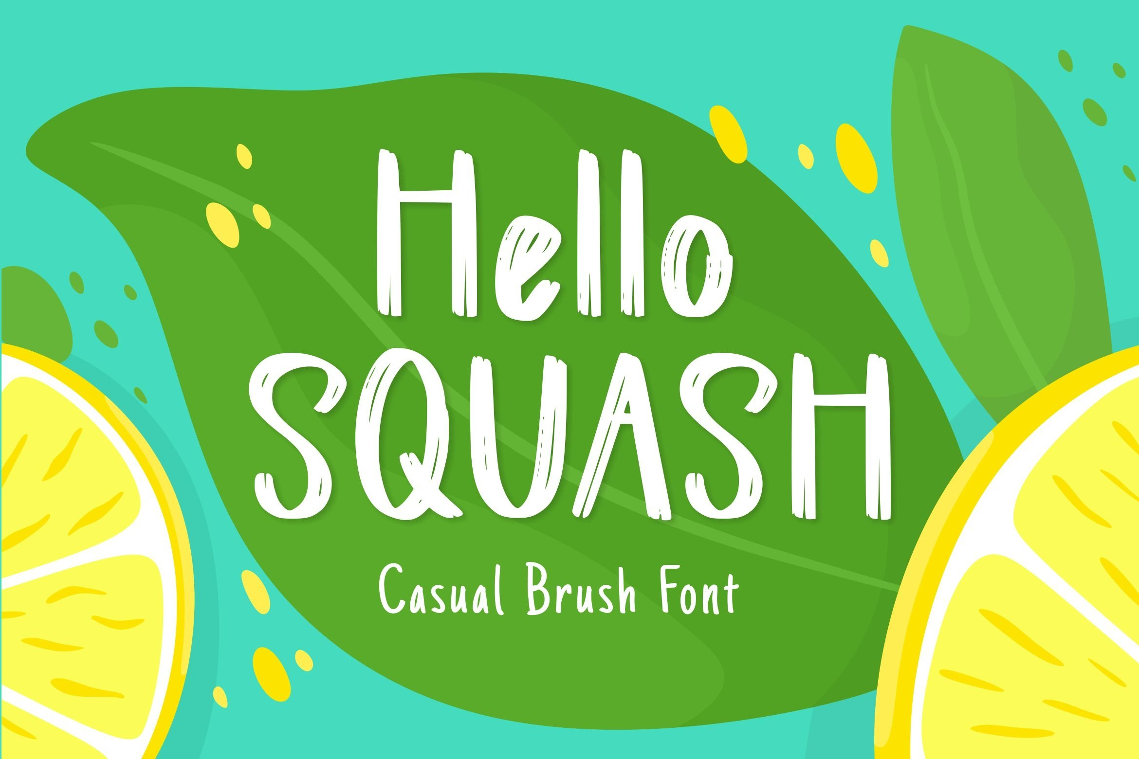 Squash Display Font example image 1