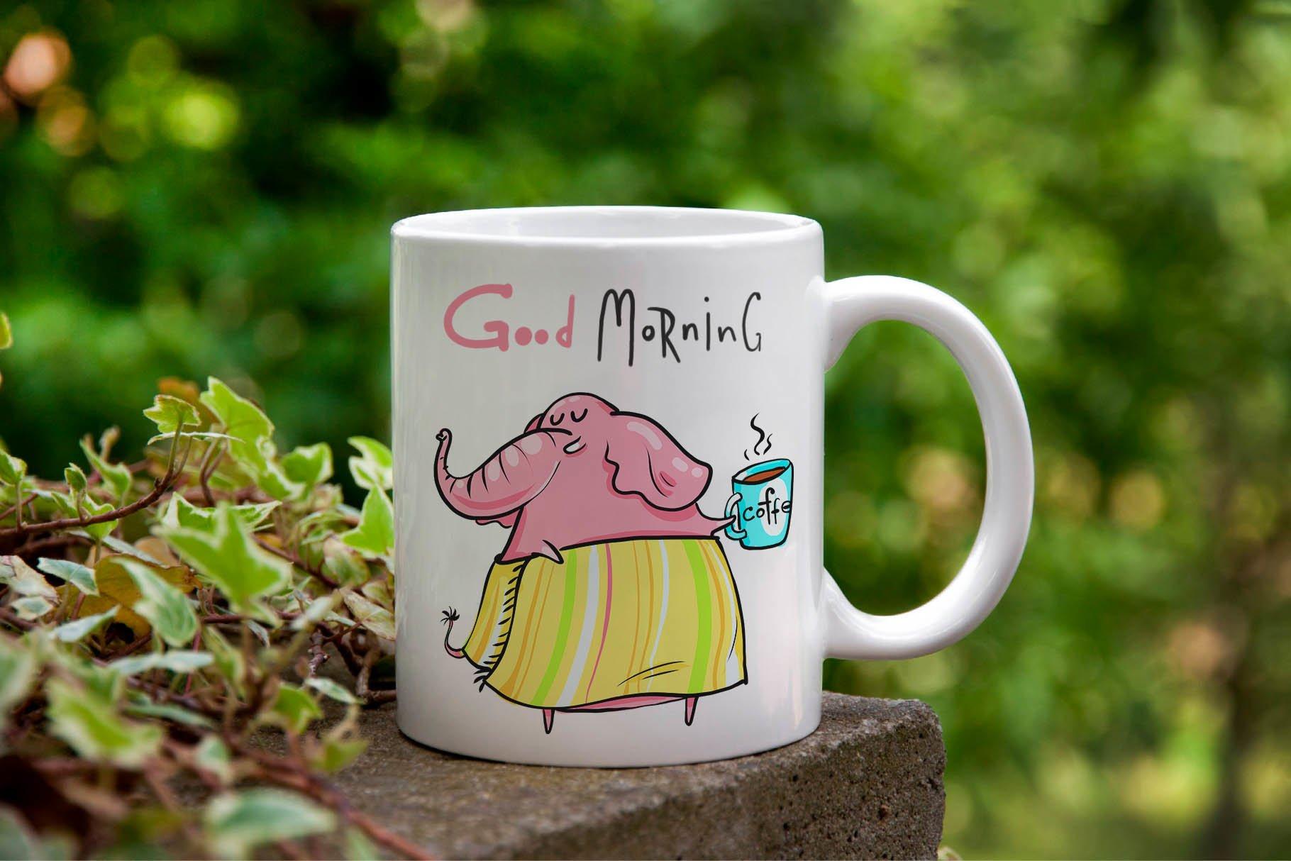 Little Elephant - 20 illustrations example image 2
