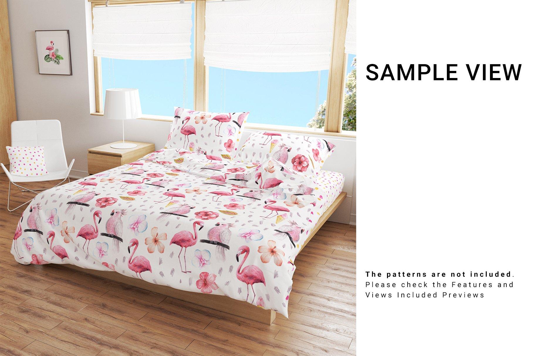 Bedroom Set - Bedding & Throw Pillow example image 9